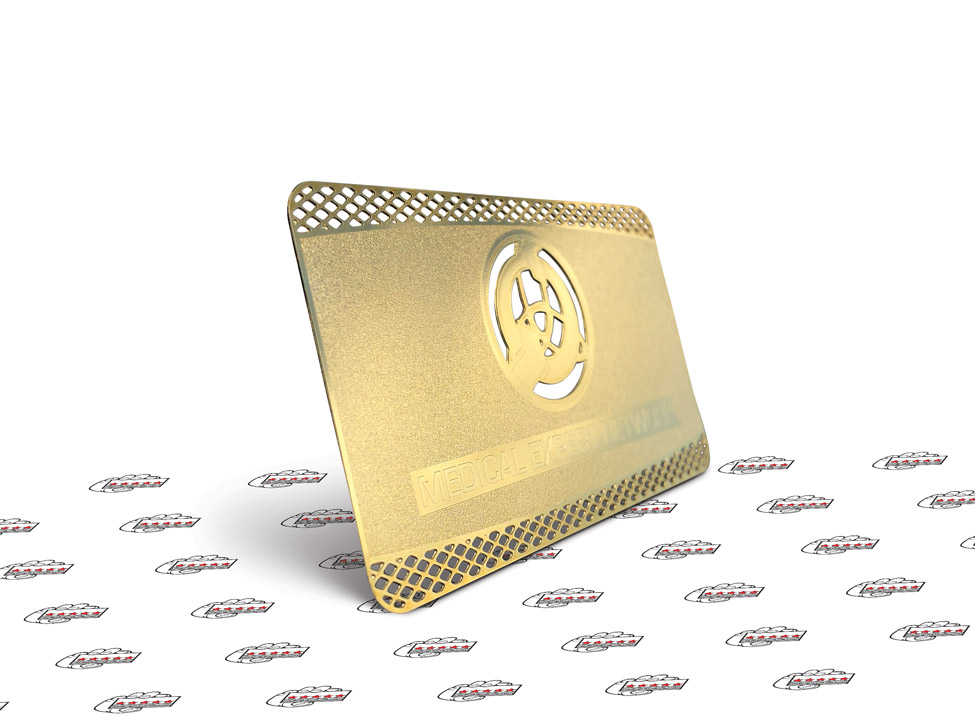 metal business cards in miami