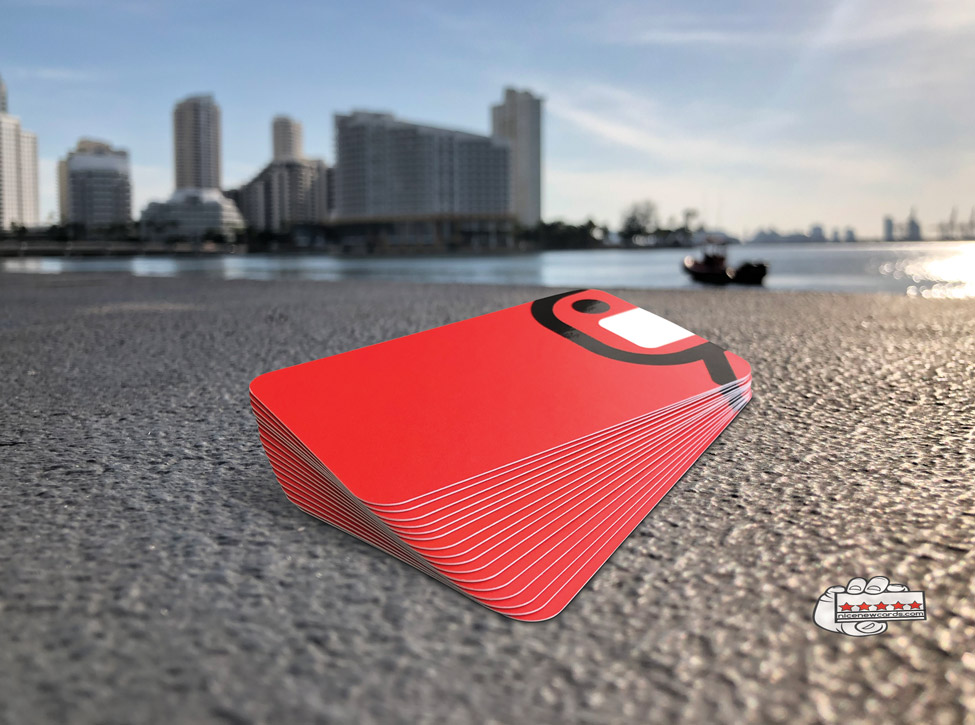 rounded edge business cards in miami 1