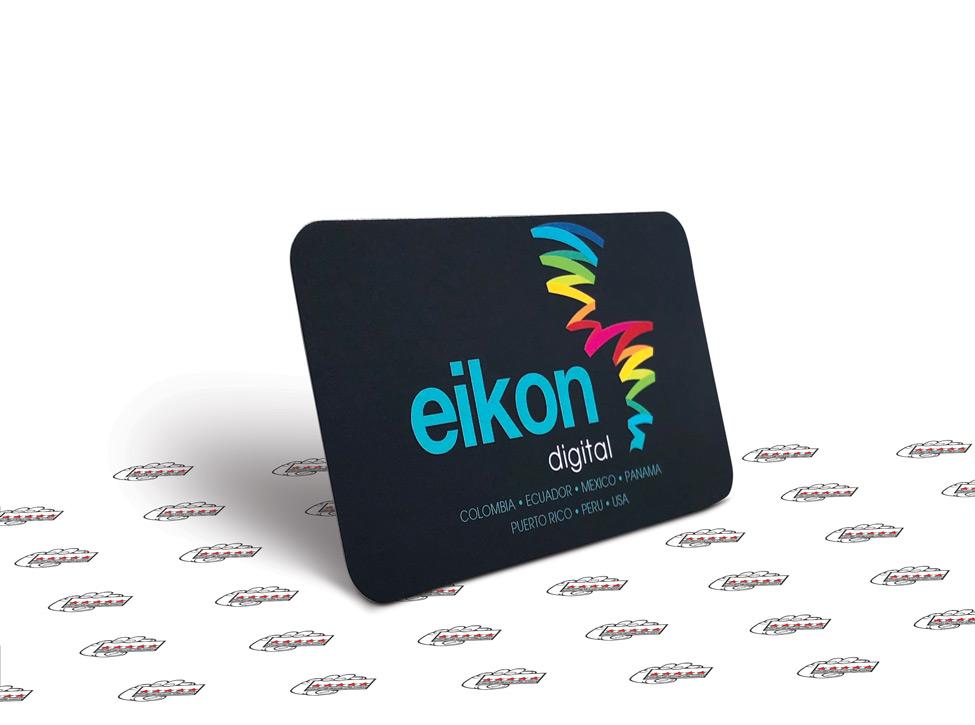 full color business card 16pt silk laminated miami
