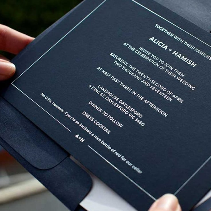 luxury invitations