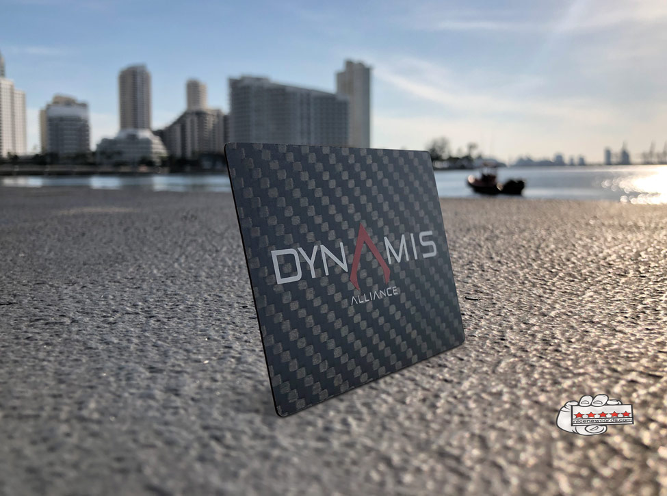 carbon fiber business cards in miami