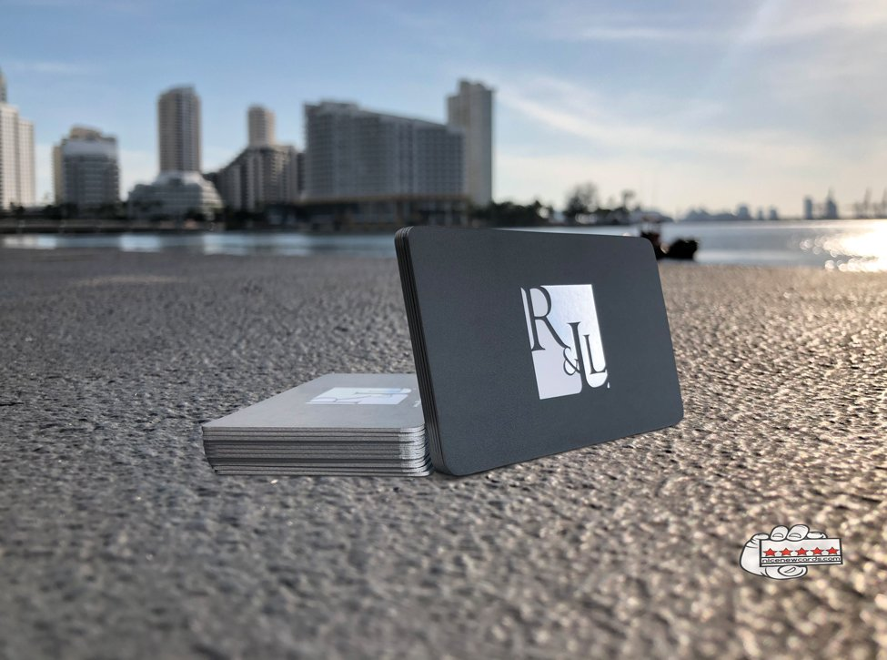 luxury foil stamping cards miami